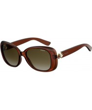 Polaroid Ladies PLD4051-S 09Q LA Sunglasses