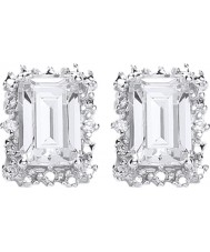 Purity 925 P1478ES-1 Ladies Earrings