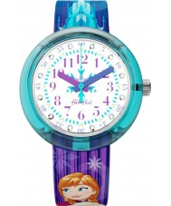 Flik Flak FLNP027 Girls Disney Frozen Elsa and Anna Watch
