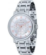 Thomas Earnshaw ES-8051-11 Mens Beaufort Silver Steel Chronograph Watch