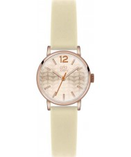 Orla Kiely OK2012 Ladies Frankie Cream Leather Strap Watch