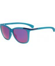 Calvin Klein Jeans Ladies CKJ768S Matte Crystal Teal Sunglasses