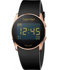 Calvin Klein K5B236D1 Future Silicone Digital Black Watch