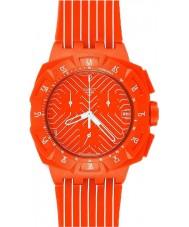 Swatch SUIO400 Chrono Plastic - Flash Run Watch