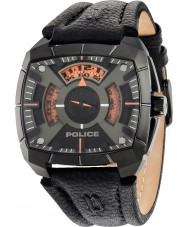Police 14796JSU-02 Mens G Force Black Leather Strap Watch