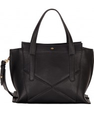 Nica NH6130-BLACK Ladies Nabi Black Zip Medium Grab Bag