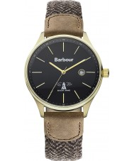 Barbour BB021GDHB Mens Glysdale Two Tone Fabric Strap Watch