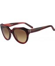 Karl Lagerfeld Ladies KL838S Red Marble Sunglasses