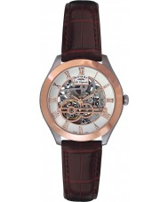Rotary GS90511-21 Mens Les Originales Jura Automatic Skeleton Rose Gold Watch