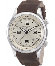 Elliot Brown 202-003-L08 Mens Canford Chocolate Brown Leather Strap Watch