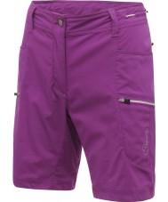 Dare2b DWJ102-7JX08L Ladies Surmount Performance Purple Shorts - Size XXS (8)