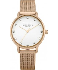 Daisy Dixon DD018RGM Ladies Stone Set Rose Gold Plated Watch