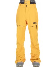 Picture MPT056-YELLO-L Mens Object Ski Pants