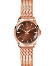 Henry London HL25-M-0044 Ladies Harrow Brown Rose Gold Watch
