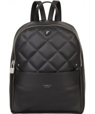 Fiorelli FH8658-BLACKQUILT Ladies Trenton Black Quilt Backpack