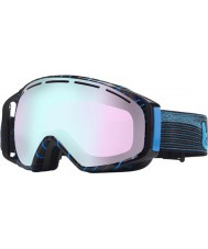 Bolle 20922 Gravity Black and Blue Waves - Modulator Vermillion Blue Ski Goggles