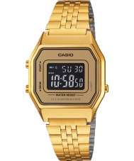Casio LA680WEGA-9BER Collection Classic Gold Plated Watch