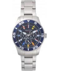 Nautica NAPWHC001 Mens White Cap Watch Gift Set