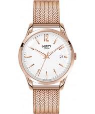 Henry London HL39-M-0026 Ladies Richmond White Rose Gold Watch