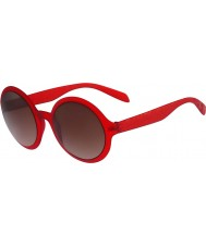 Calvin Klein Platinum Ladies CK3164S Red Sunglasses