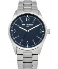 Ben Sherman WB051USM Mens Silver Steel Bracelet Watch