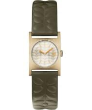 Orla Kiely OK2128 Ladies Nemo Olive Leather Strap Watch