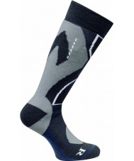 Dare2b Mens Cocoon Tech Black Ski Sock
