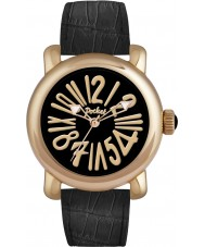 Pocket PK3002 Mens Rond Classique Grande Gold Black Watch