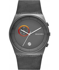 Skagen SKW6186 Mens Havene Chronograph Grey Mesh Strap Watch