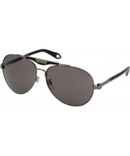 Givenchy Ladies SGVA13-568 Gunmetal Sunglasses