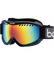 Bolle 21107 Carve Black and Blue Fade - Sunrise Ski Goggles