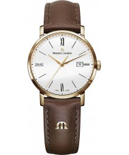Maurice Lacroix EL1084-PVP01-112-2 Ladies Eliros Brown Leather Strap Watch