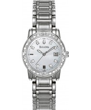 Bulova 96R105 Ladies Diamonds Silver Steel Bracelet Watch