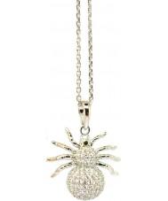 Women's Babette Wasserman Spider Silver Necklace