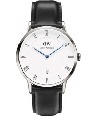 Daniel Wellington DW00100088 Mens Dapper 38mm Sheffield Silver Watch