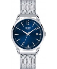 Henry London HL39-M-0029 Ladies Knightsbridge Blue Silver Watch