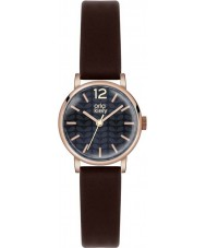 Orla Kiely OK2014 Ladies Frankie Dark Brown Leather Strap Watch