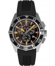 Rotary AGS90088-C-04 Mens Aquaspeed Pacific Black Chronograph Watch