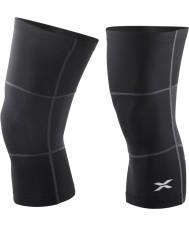 2XU Black Thermal Knee Warmers