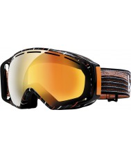 Bolle 20923 Gravity Grey and Orange Waves - Fire Orange Ski Goggles