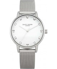 Daisy Dixon DD018SM Ladies Stone Set Silver Watch