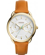 Fossil ES4006 Ladies Tailor Dark Brown Leather Strap  Watch