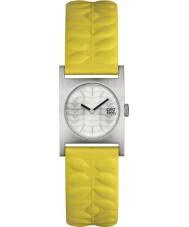 Orla Kiely OK2129 Ladies Nemo Yellow Leather Strap Watch