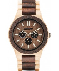 WeWOOD KAPPACHOCCREAM Kappa Choco Creama Wood Bracelet Watch