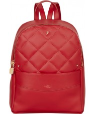 Fiorelli FH8658-REDQUILT Ladies Trenton Pllar Box Red Quilt Backpack