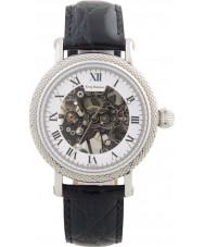 Krug Baümen 60112KM Mens Prestige Black Leather Strap Watch