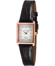 Dreyfuss and Co DLS00011-06 Ladies 1974 Rose Gold Brown Watch