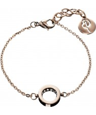 Edblad 78905 Ladies Monaco Rose Gold Thin Bracelet