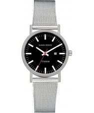 Danish Design V63Q199 Ladies Silver Steel Mesh Bracelet Watch