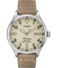 Timex TW2P83900 Mens Waterbury Tan Leather Strap Watch